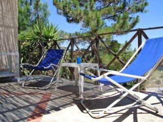 Appartamento panoramico in villa immerso nella quiete a pochi passi dal mare blu