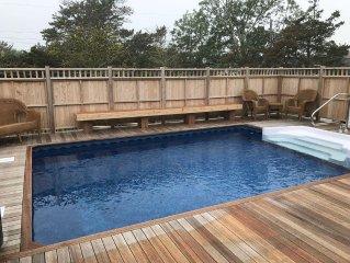 NEW HOUSE .... 'BUILT IN POOL'... BEST BEACH BLOCK