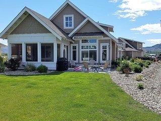 Enjoy sun, sand, water & wine at Sandpiper Beach House on Canada's warmest lake