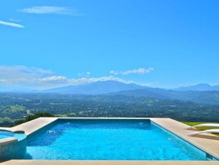 Special Fall 2017 Rates for new villa with best views in Atenas