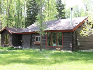 Rustic Log Cabin on 1/2 acre