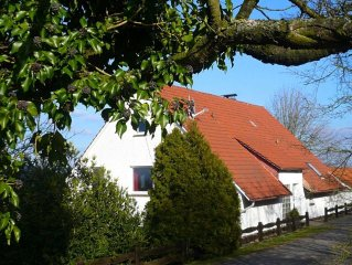 Holiday home in wonderful setting in the Weser Uplands with garden and terrace