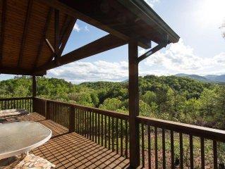 JuvéCabin offers breathtaking views.