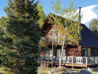 Cabin on Creek w/Mountain Views! Winter or Summer, Perfect for Family Getaways!