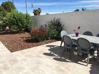 Appartement 6 couchages110m2 avec jardin et terrasse
