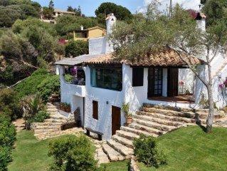Villa indipendente con vista mozzafiato su Cala Delfino