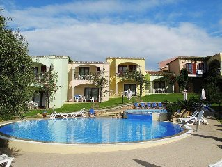 Apartment Residence Badus  in Badesi, Sardinia - 4 persons, 1 bedroom