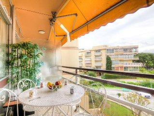 Apartment Heliotel Marine  in Cagnes - sur - Mer, Cote d'Azur - 4 persons, 1 be