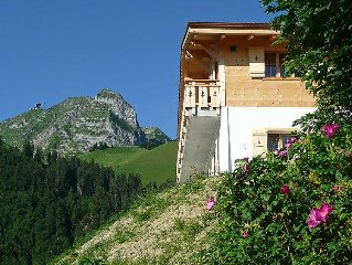 Vacation home La Poya  in Moléson, Freiburg - 6 persons, 3 bedrooms