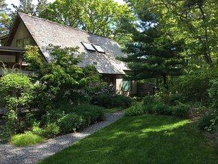 Architect-designed Tree House on Owl Pond