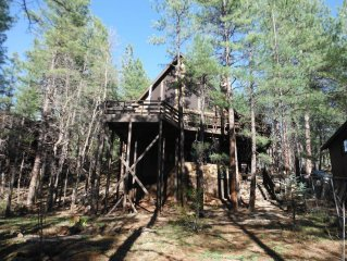 Large cabin, all the amenities for  large group to enjoy a weekend in the Pines