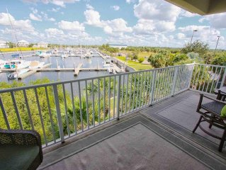 Awesome 3 Bed, 3 Bath Townhome, Water Views on 4 Covered Balconies