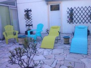 Appartement au calme a 300m de la Ria d'Etel avec terrasse et jardin