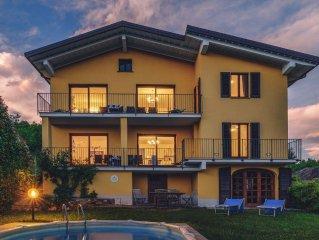 Villa Mimosa con Vista Fantastica