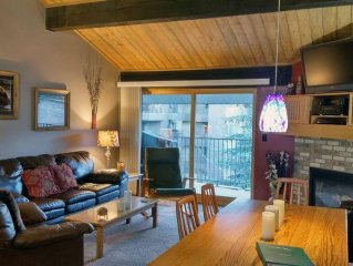 BC West #M-4: Premium 2BR Condo w/ FREE Skier Shuttle, Heated Pool, Hot Tubs