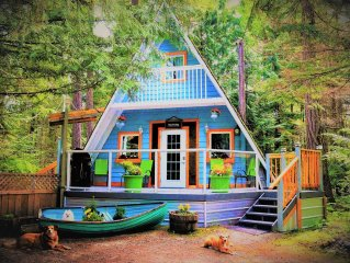 Stones Throw Cottage Retreat In Old Growth Forest