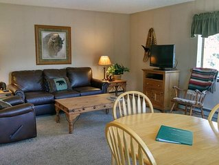 BC West #F-2: 1BR Condo w/ FREE Skier Shuttle, Heated Pool, Hot Tubs