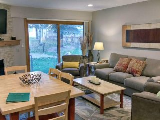 BC West # L-1: Premium 2BR Condo w/ FREE Skier Shuttle, Heated Pool, Hot Tubs
