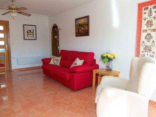 Superb duplex apartment 10 min Alicante airport 4 min walk to beach
