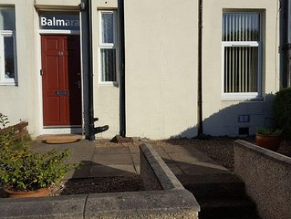 One bedroom self catering apartment near the East neuk of Fife.
