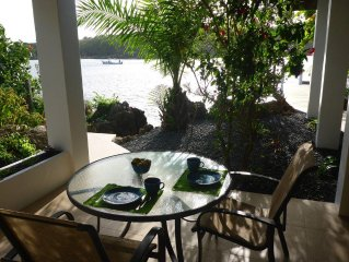 Private and peaceful waterfront oasis, walking distance to all amenities.