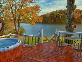 Kick back and enjoy the Hocking Hills with this lakefront property