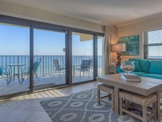 Ocean Breeze West 606 Perdido Key Gulf Front Vacation Condo Rental - Meyer Vaca