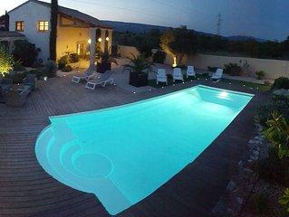 Lamanderie en Provence; maison type Hacienda entre Alpilles et Luberon