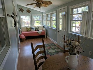 sunroom/finished porch - great place for relaxing and having morning coffee