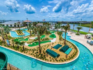 Location, Location, Location!! Brand New, Lake View, Resort Community, Free WiFi