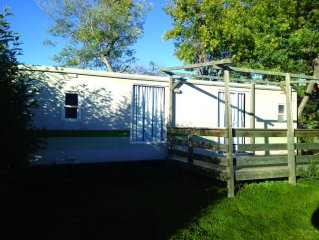 Camping le Mas Manyeres *** - Mobilhome 6 personnes - 4/6 places