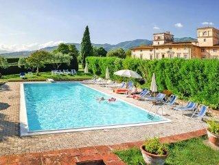 Apartments Villa del Vescovo, San Colombano  in Pisa und Lucca - 6 persons, 3 b