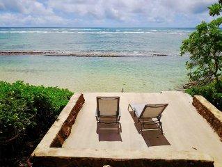 Step onto Sand! Spacious BeachFront Property-Swim, Paddle, Snorkel, Play in HI