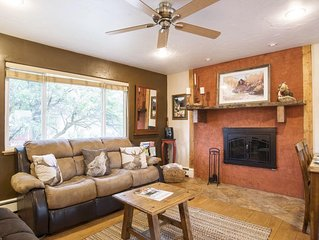 """PERFECT """"HOME AWAY FROM HOME"""" NEAR SKIING, WALK TO TOWN! GREAT FOR FAMILIES!"""