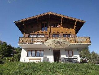 Apartment With Overwhelming Mountain Views In Ski Resort, Near Aletschglacier