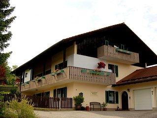 Ferienwohnung mit 2 Schlafzimmern u. Terrasse