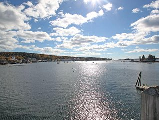 Pet Friendly-Steps from All-Harbor View Apt Heart of Boothbay Harbor's Downtown.