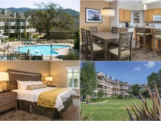 Wine Country - 2 Bedroom Condo - Sleeps 6