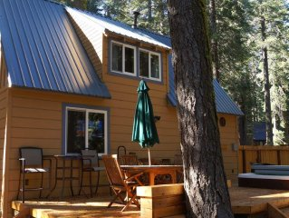 TAHOE West Shore Cabin, Newly Remodeled, Sleeps 4-6, Hottub, Wifi, Cable, +
