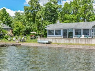 Serenity Cove - Tranquil Setting and Level Lakefront!