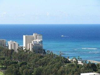 37th Floor!  Waikiki Ocean View