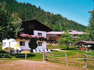 Vacation home Huberhäusl  in Oberau, Kitzbühel Alps - 9 persons, 4 bedrooms