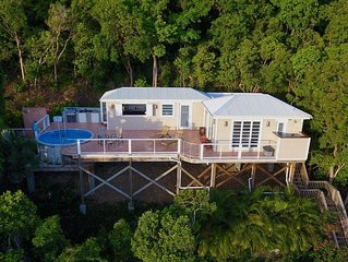 Romantic, Private 1 Br Getaway With Pool And Stunning Views