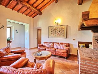 Apartment in Figline Valdarno with 3 bedrooms sleeps 4