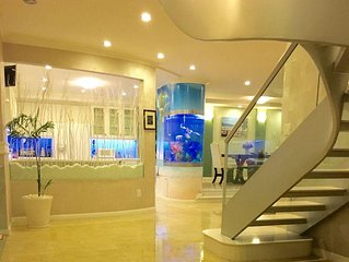 3BR + 3BA. Luxury Waterfront Penthouse in Saigon.  View Saigon River & City.