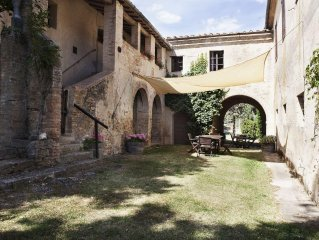 True Tuscan living in you own Hamlet on an Historical Wine Estate