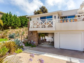 Elegant One Bedroom Pied-a-Terre in Olde Del Mar, 1/2 block to Bluffs and Beach