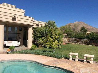 Inground Pool w/ Spectacular Mountain Views in a gated community.