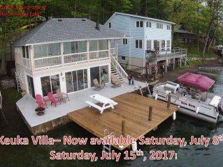 Keuka Villa - A Charming Lakeside Cottage on the Jewel of the Finger Lakes