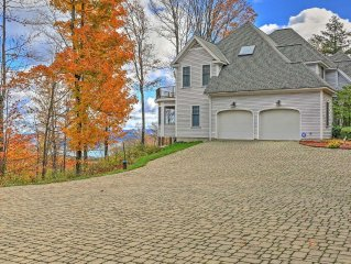 NEW! Rum Hill Manor 5BR Cooperstown House w/Views!